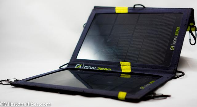 Goal Zero Guide 10 Plus Solar Kit Review Milestone Rides