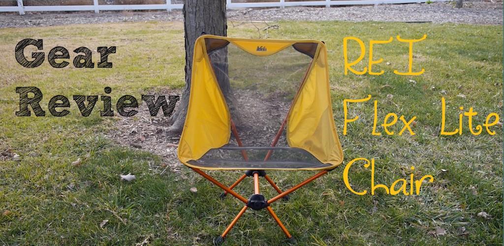 Gear Review: REI FLex Lite Chair