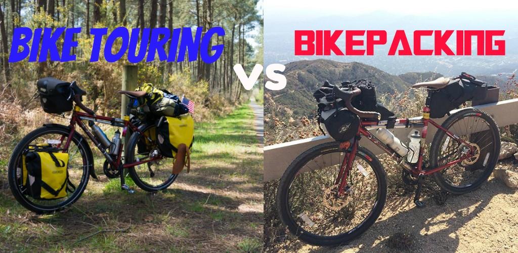 biketouring vs bikepacking