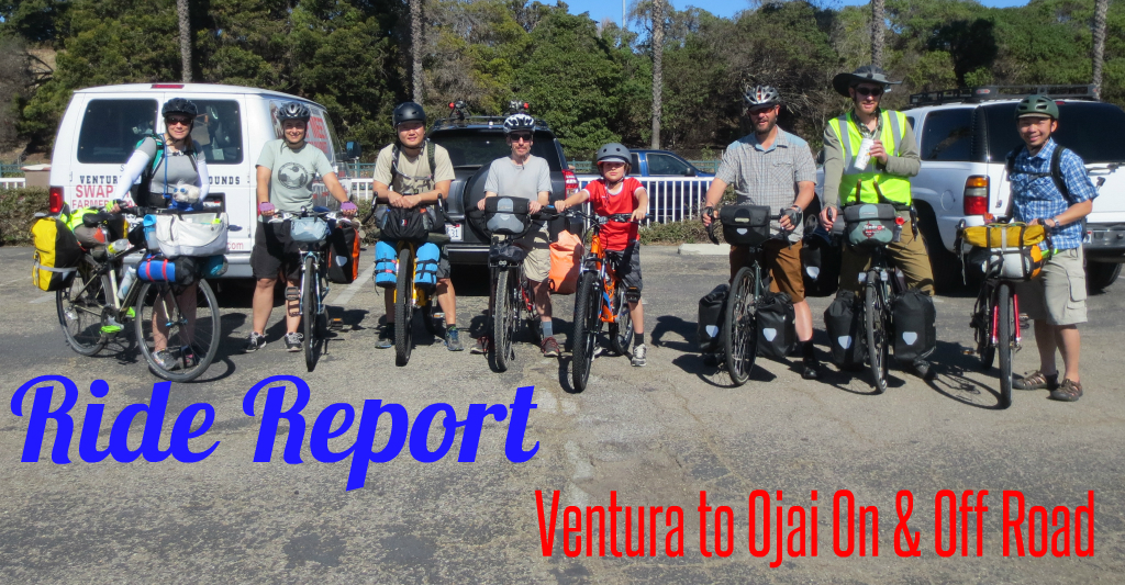 Ride Report: Ventura to Ojai On & Off Road (Video