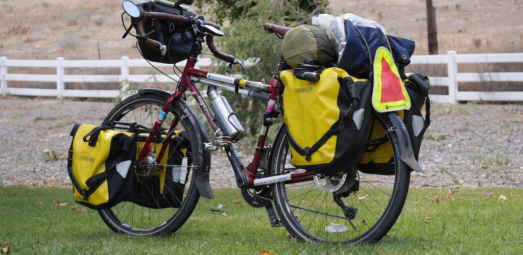 What's In My Bag, Bike Touring