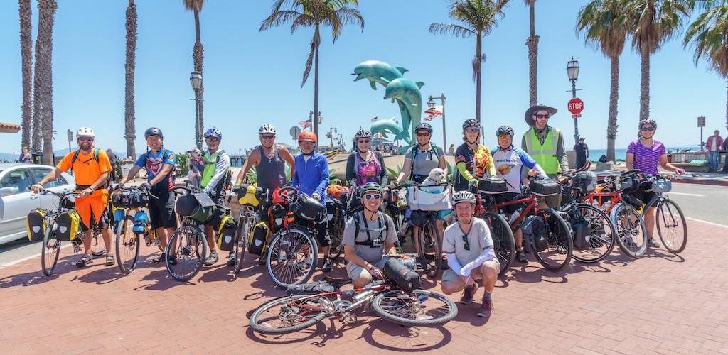 Group shot at the Santa Barbara Pier