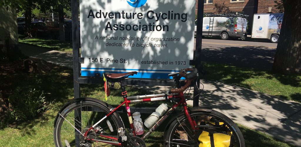 Made it to Adventure Cycling Association