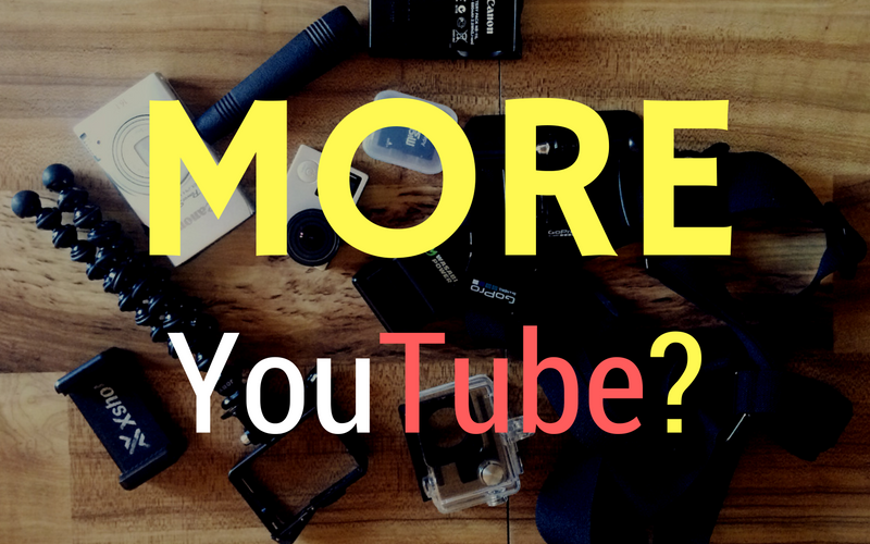 More YouTube?