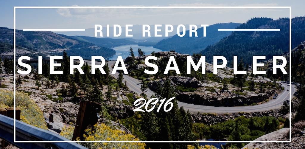 Sierra Sampler 2016