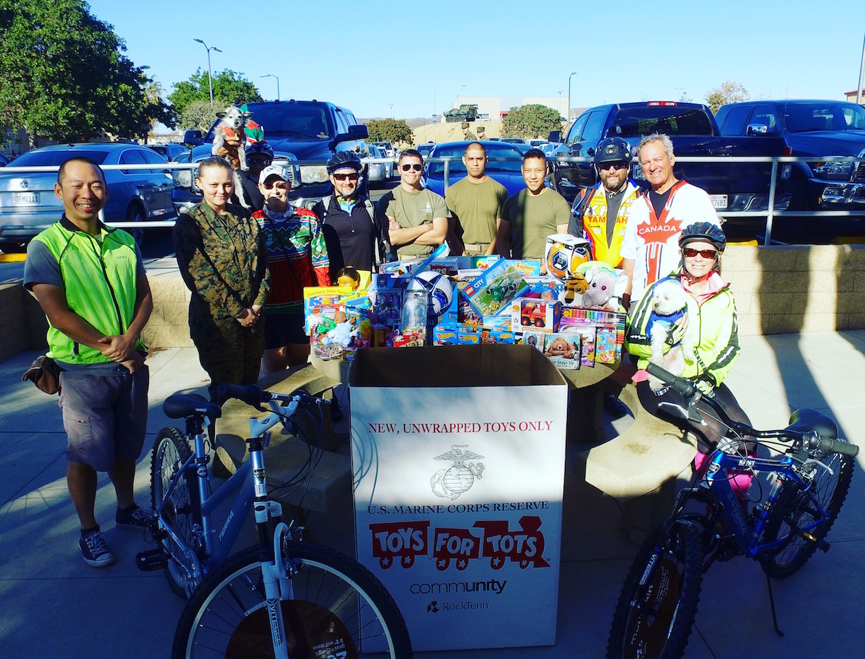 Toys For Tots Charity : Toys for tots charity ride video milestone rides