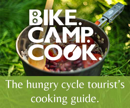 Bike. Camp. Cook.